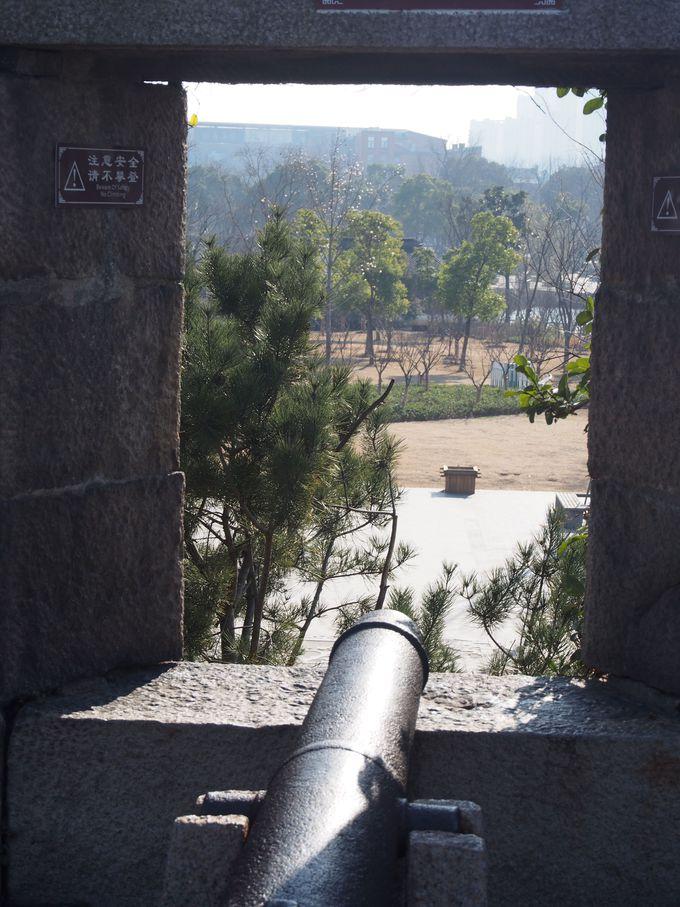 城門の上からの景色も素晴らしい