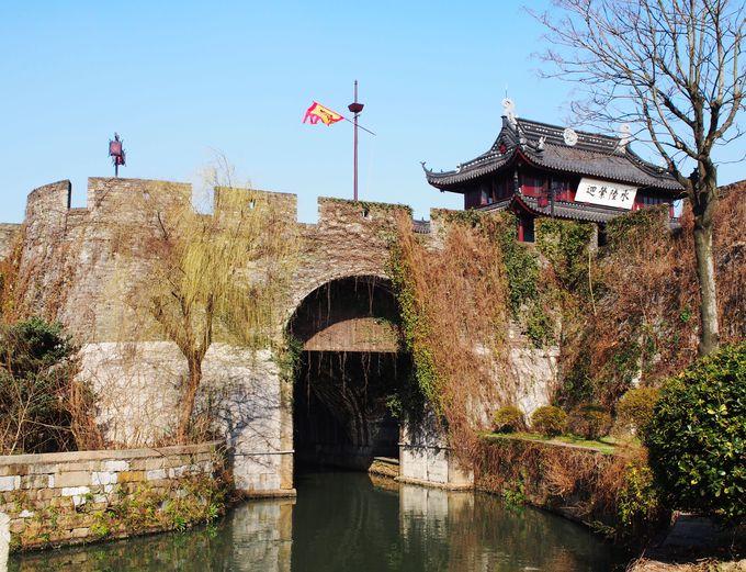 南方なら「盤門」と賛美された水陸城門遺跡