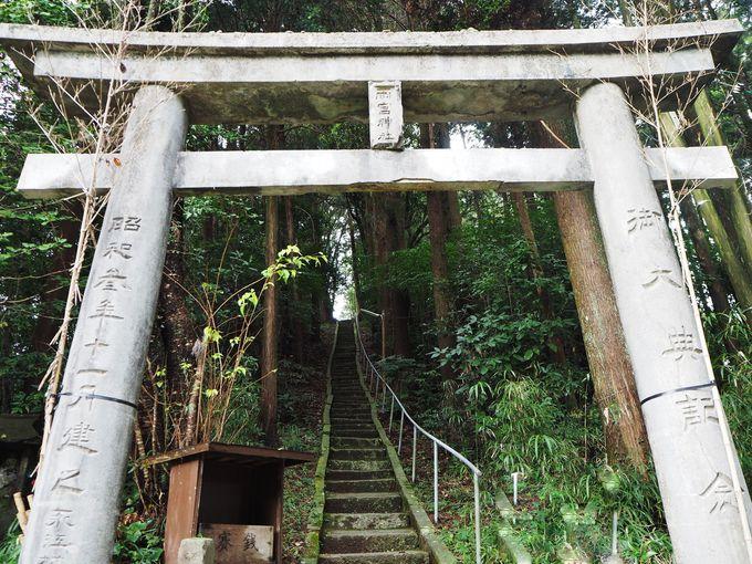 夏目が下りてきそう!「雨宮神社」