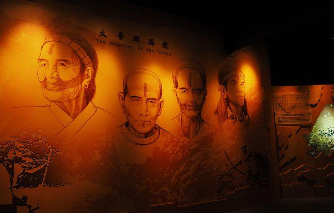 ビジターセンターで太魯閣の歴史を予習