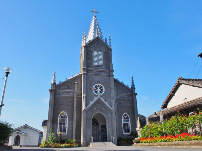 世界遺産・崎津集落の象徴「崎津教会」