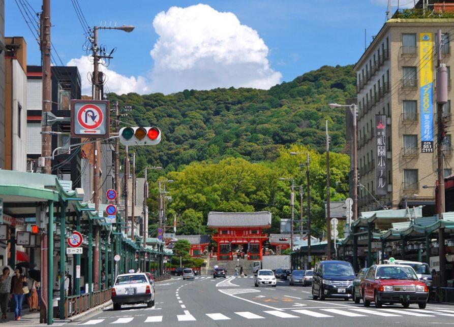 祇園をぶらり東山へのアクセス最高