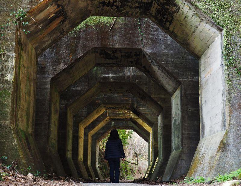 廃線跡・廃墟好きに!熊本「八角トンネル」は恋人の聖地・二俣橋そば