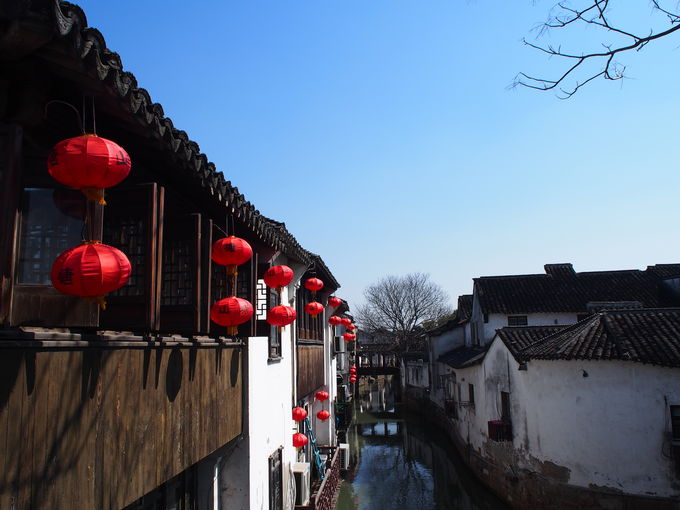 中国情緒たっぷり!水路の町蘇州