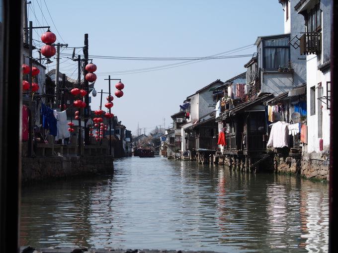 水路から見る蘇州の生活