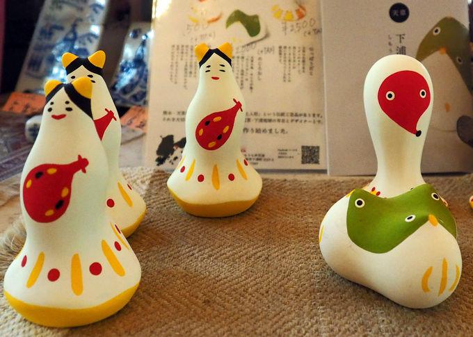 天草の伝統工芸「下浦土玩具」