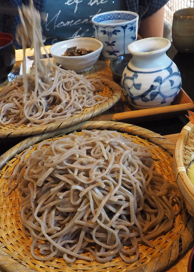 天草の麺類では珍しい蕎麦!