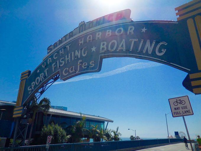 観光・ショッピング・遊園地・アクティビティとスタイリッシュに楽しめる、サンタモニカ