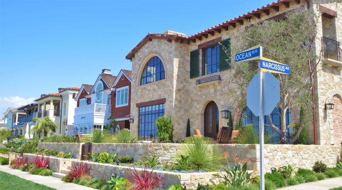 高級住宅地がズラリと並ぶ、コロナ・デル・マルの「インスピレーション・ポイント」