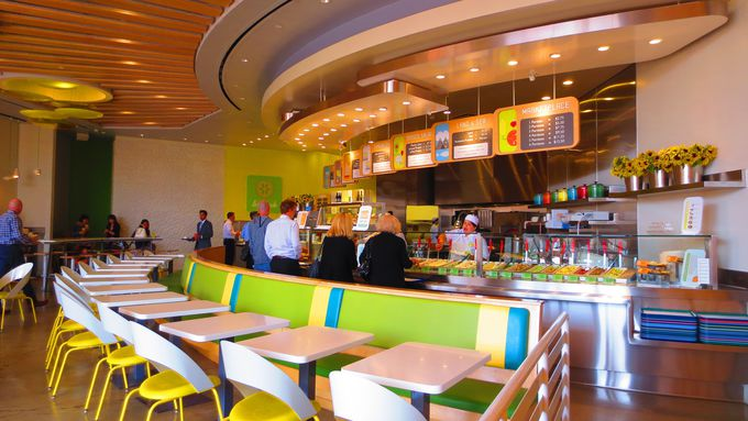 単なるカフェテリアではない、ブティック・レストラン「レモネード」