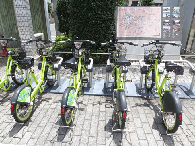 1日たったの200円!使わなきゃ絶対損な「自転車シェアリング」
