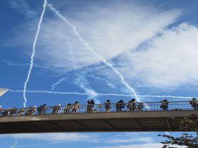 ブルーインパルスは大迫力の空飛ぶ芸術!埼玉「入間航空祭」