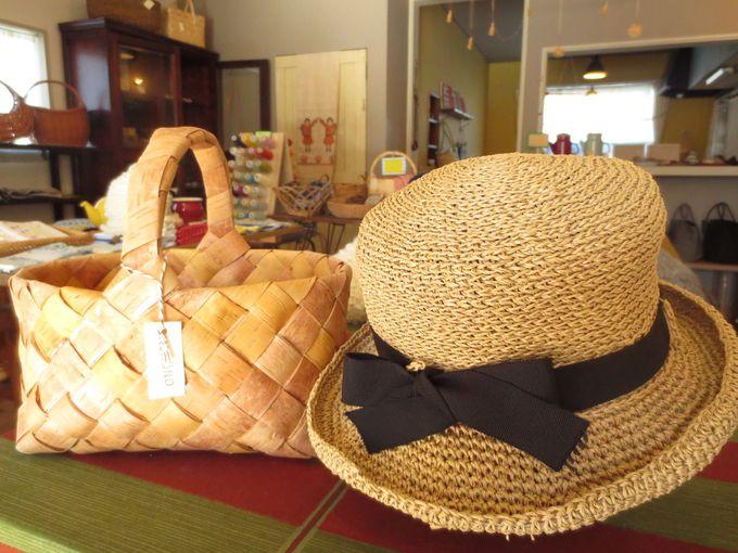 驚くべきフィット感!手作り帽子とカゴの店「KIKONO」