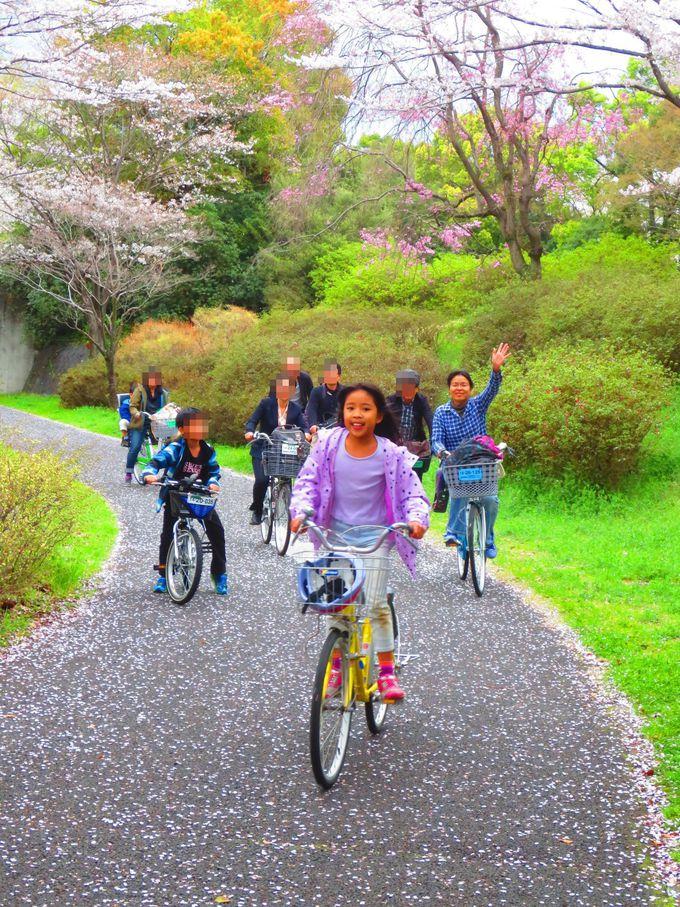 子供も大人も楽しめる「レンタサイクル」