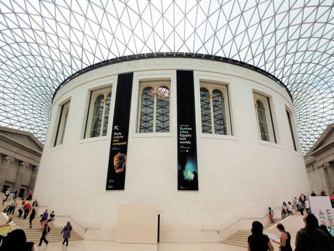 まずは、人気No.1!入場無料の「大英博物館」から