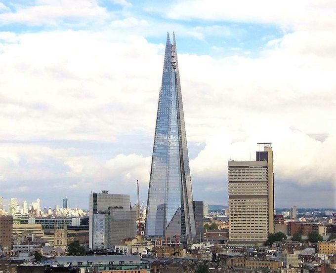 EU一の超高層ビル「破片」