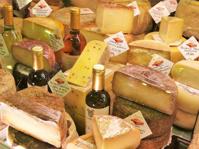日本で希少な「ペコリーノ・チーズ」は必食!