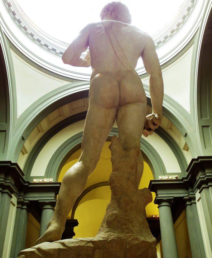 教科書では見られなかった「お尻」を鑑賞、「アカデミア美術館」