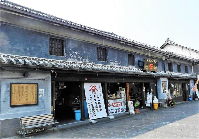 創業1600年!九州最古の味噌・醤油屋「カニ醤油」