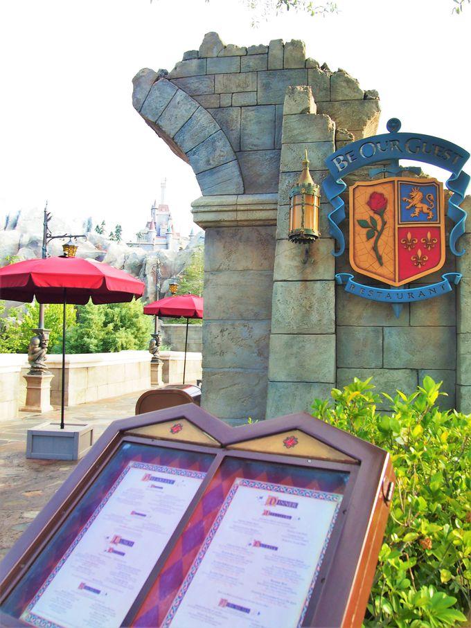 ゲストが招待されるのは、ビーストのお城