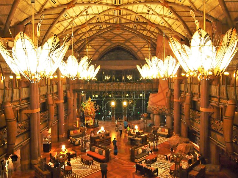 フロリダだけどアフリカ?ディズニー・アニマルキングダム・ロッジが演出するサバンナの豪華ホテル
