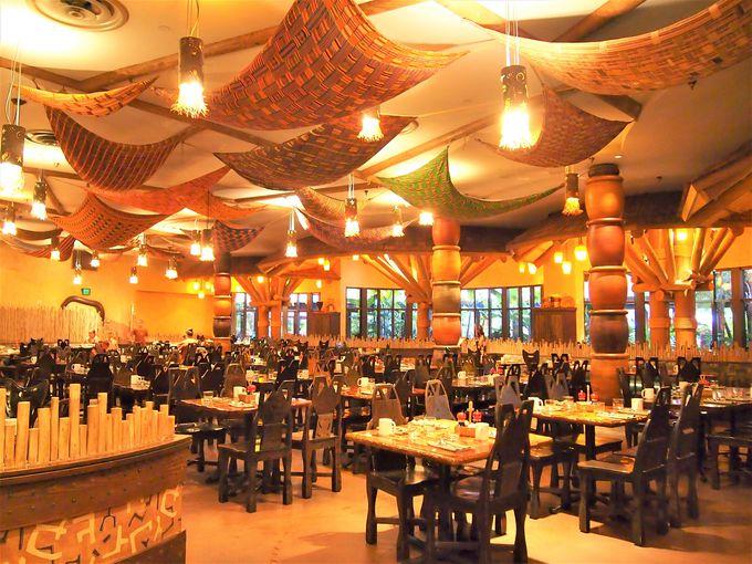 アフリカン&アメリカンなブッフェレストラン「ボーマ・フレーバーズ・オブ・アフリカ」