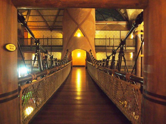 豪華アフリカン・リゾート、圧巻のロビーを堪能しよう!