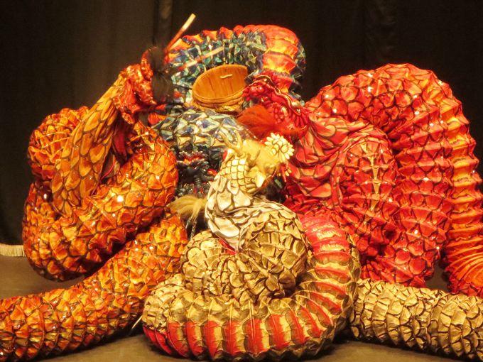 大蛇が魅せるトグロの巻き型が見どころ『八岐大蛇』