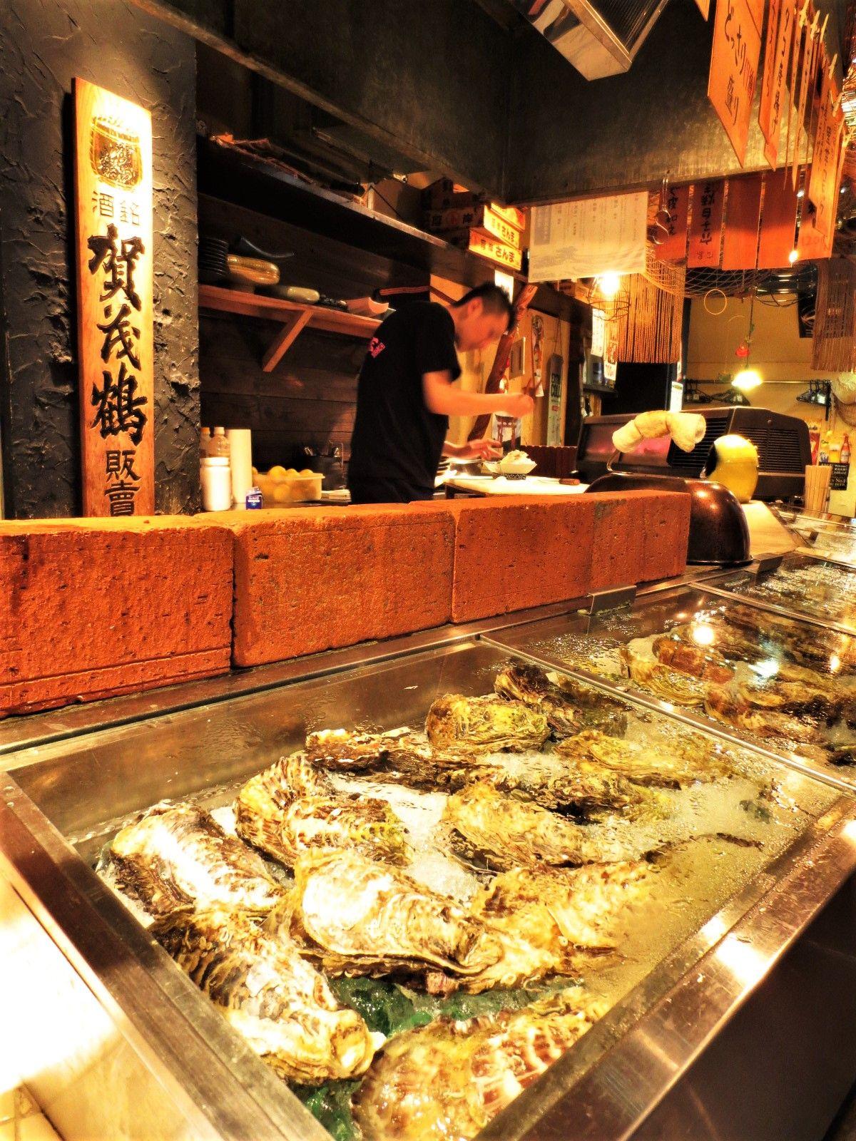広島初の牡蠣小屋店「海平商店」