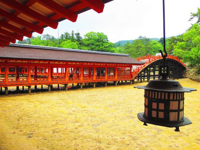 宮島観光の大御所、世界遺産「嚴島神社」