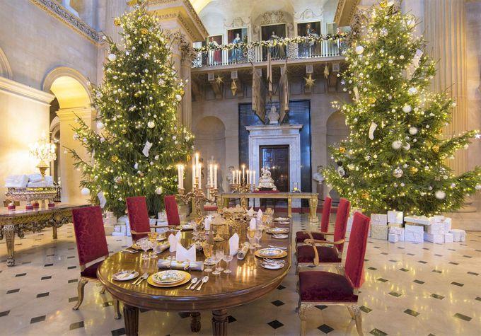 「クリスマス・アット・ブレナム」までは宮殿内部をじっくり見学