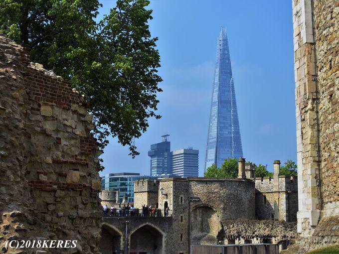 「ロンドン塔」からのフォトジェニックな風景もお見逃しなく!