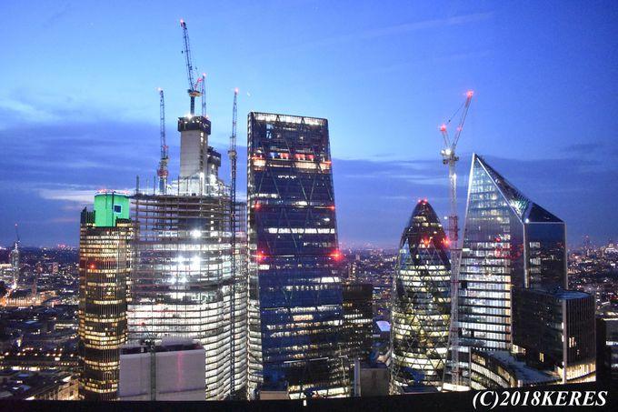 ロンドンの夜景を360度満喫!