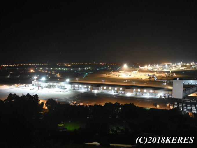 飛行機マニアでなくとも嬉しい!第3ターミナルが一望