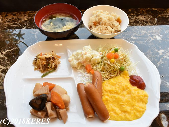 東横INNの代名詞「無料朝食サービス」も満喫!