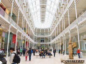 エジンバラの世界遺産も展示!?スコットランド国立博物館攻略法