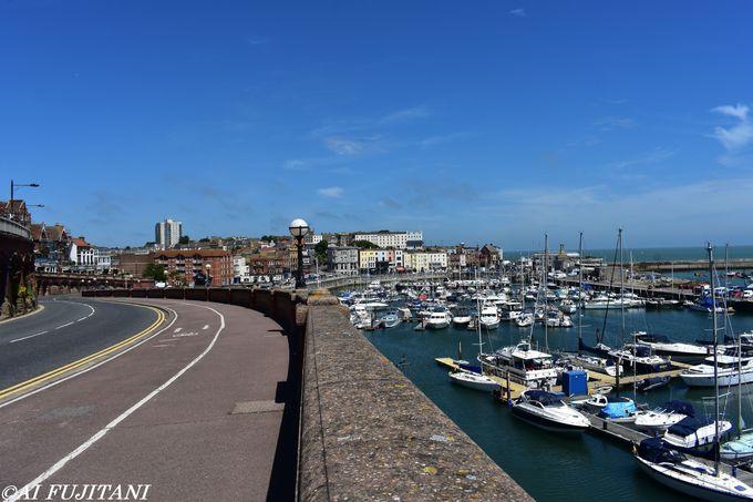 英国内唯一のロイヤルハーバーを持つ港町「ラムズゲート」