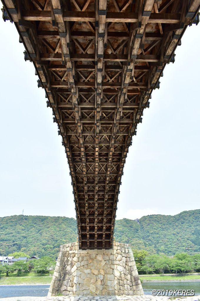 2日目午前:世界遺産登録を目指す、山口「錦帯橋」で建築美を堪能