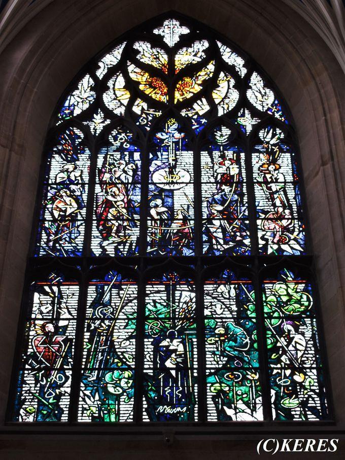 2日目午後:美しすぎるステンドグラスを堪能「セント・ジャイルズ大聖堂」