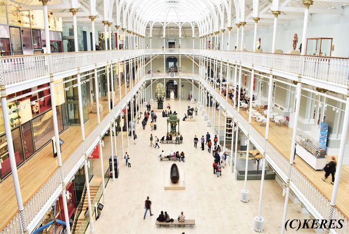 1日目午後:アートと科学に触れる「スコットランド国立博物館」