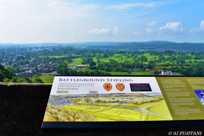 スコットランドの英雄たちを見続けた「スターリング城」