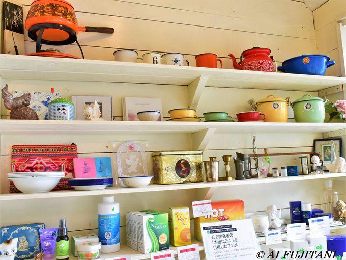 ビーガン料理や海外雑貨も!「Massage Cafe Siesta」