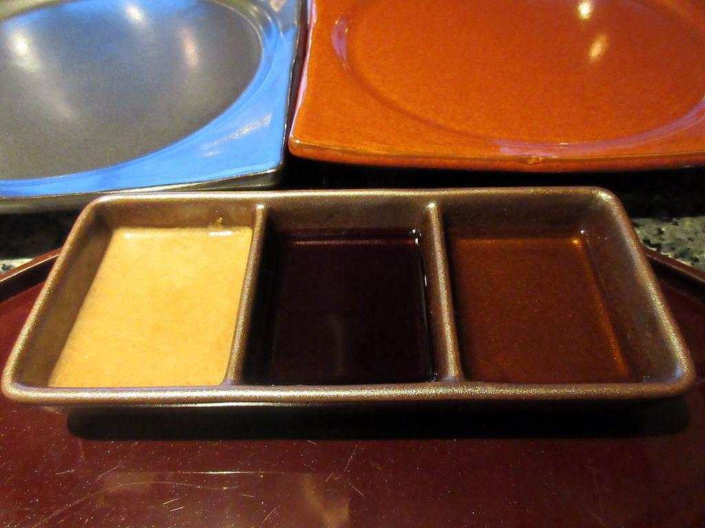 黒恵比寿牛と赤恵比寿牛のフィレとロース、4種類を食べ比べ