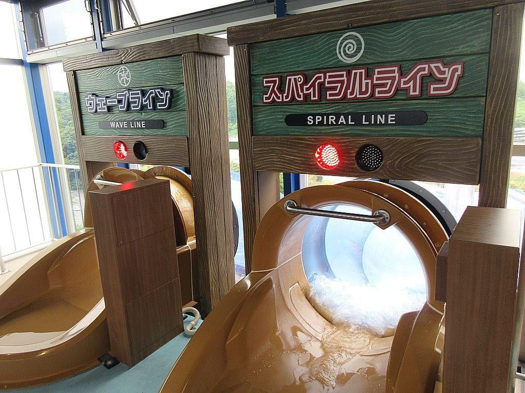 常夏のウォーターパークに日本一のボディスライダー