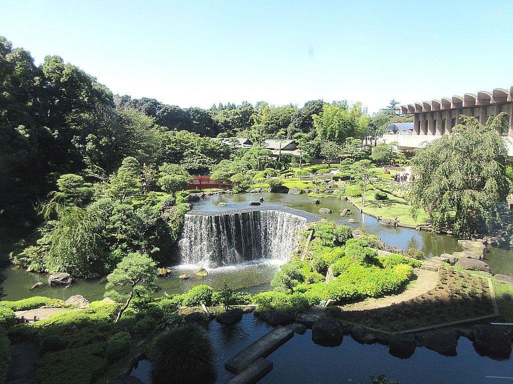 都内最大級の日本庭園を誇る