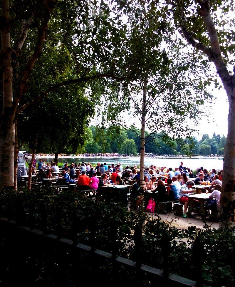 美しい緑と花、水に癒される!巨大な都市型公園、ハイドパーク