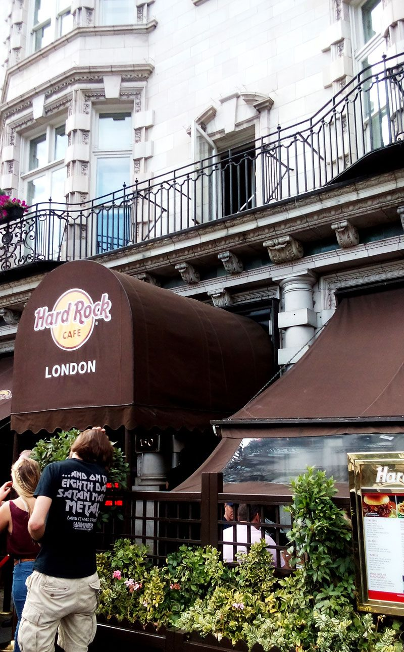 ここが世界1号店!ハードロックカフェ ロンドン