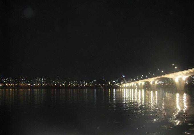 10.漢江ナイトリバークルーズ