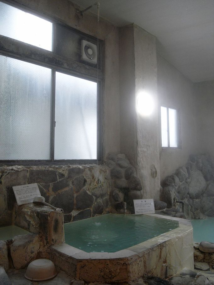 湯めぐり気分で伝統の入浴法を楽しむ