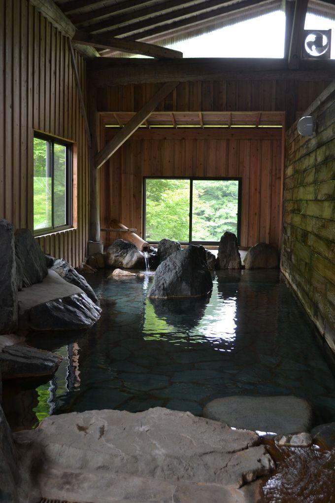 かつての露天風呂に秘められた震災の記憶
